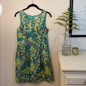 LAST CHANCE! J.Crew 100% Silk Floral Dress